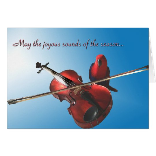 Sounds of the Season Card