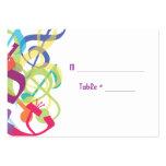 SOUNDS OF THE TORAH Bat Bar Mitzvah Seating Card