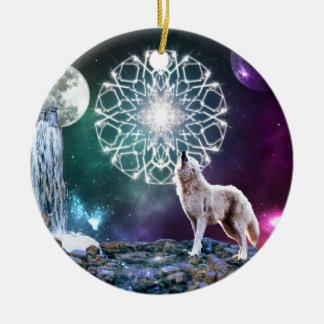 Sounds of the Universe Ceramic Ornament