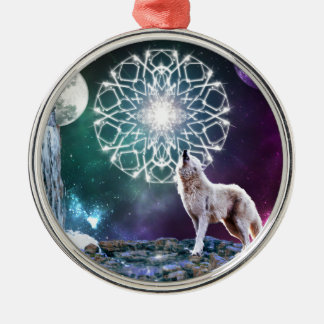Sounds of the Universe Metal Ornament