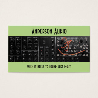 Soundstage, Audio Engineering, Electronics Repair Business Card