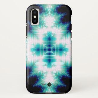 Soundwave Cross iPhone X Case