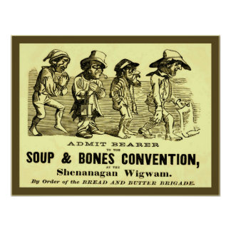 Soup and Bones Convention Poster