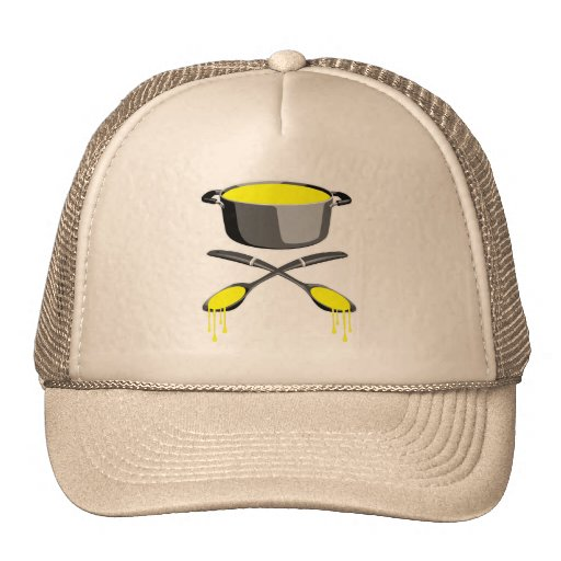 Soup and Ladles Mesh Hats