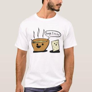 """""""Soup, Cracka?"""" T-Shirt"""
