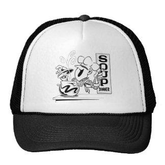 Soup Dinner Mesh Hats