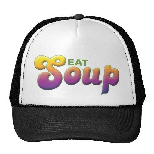 Soup, Eat Mesh Hat