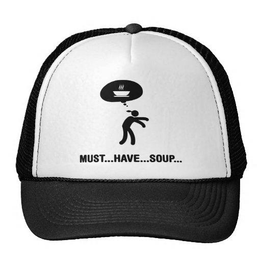 Soup Lover Trucker Hats