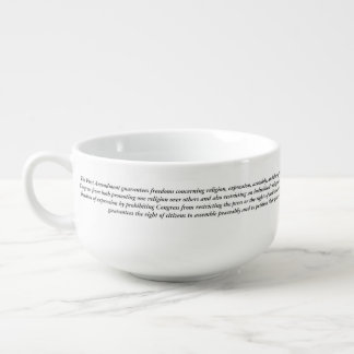 Soup Mug Liberal Tears 1st Amendment