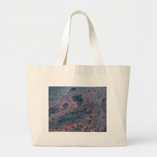 soup of lava large tote bag