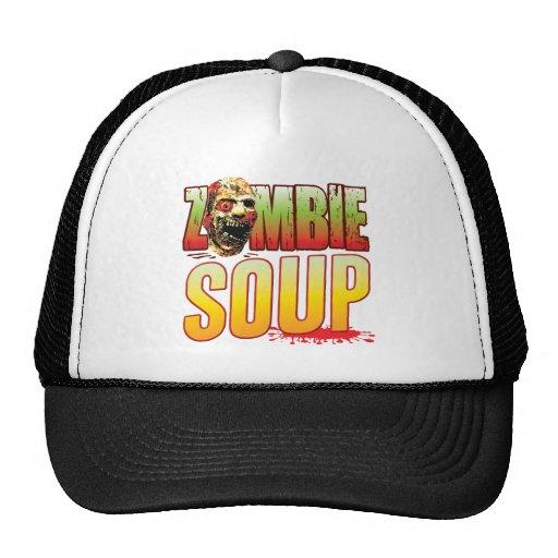 Soup Zombie Head Mesh Hat