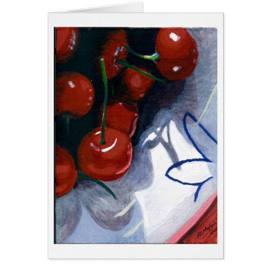 Sour Cherries Card