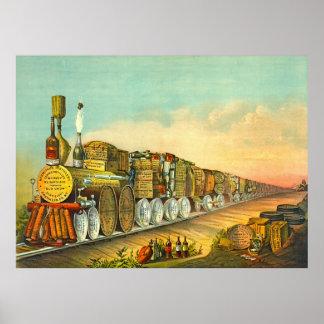 Sour Mash Express 1877 Print