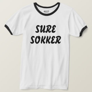 sour socks in Norwegian white T-Shirt
