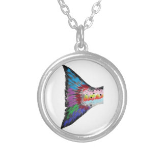 SOURCE FOR POWER SILVER PLATED NECKLACE