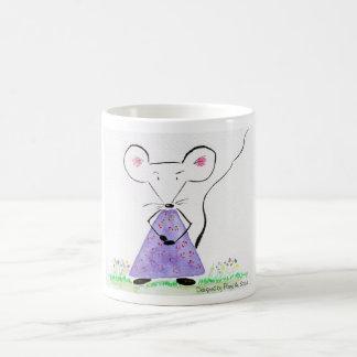 Souricette celebrates spring basic white mug