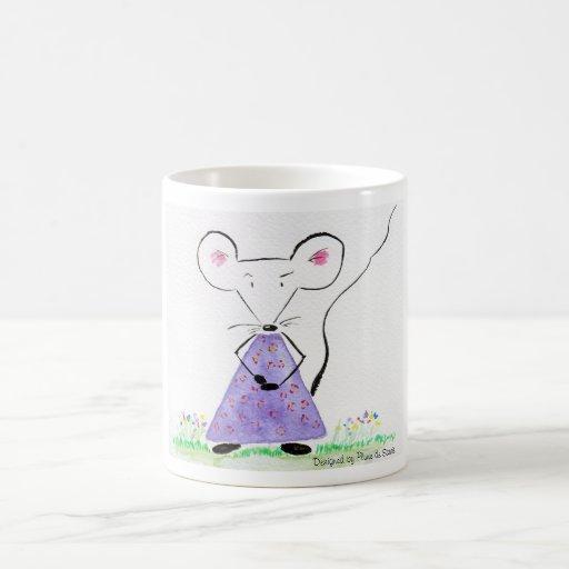 Souricette celebrates spring coffee mug