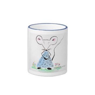 Souricette in spring ringer mug