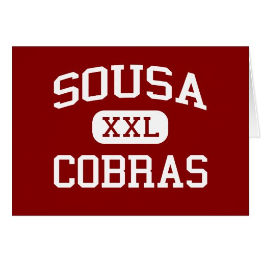 Sousa - Cobras - Middle - Washington Card