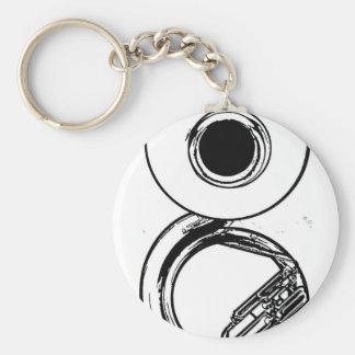 Sousaphone Keychain