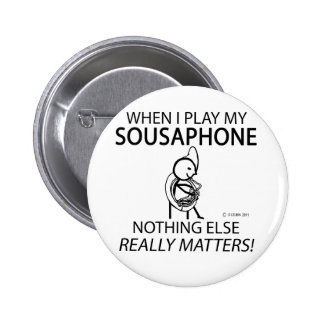 Sousaphone Nothing Else Matters Pin