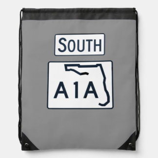 South A1A Sign backpack