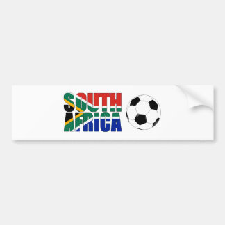 South Africa 2010 World Cup Bumper Sticker
