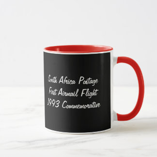 SOUTH AFRICA* Aviation Commemorative Stamp Mug