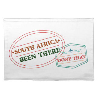 South Africa Been There Done That Placemat
