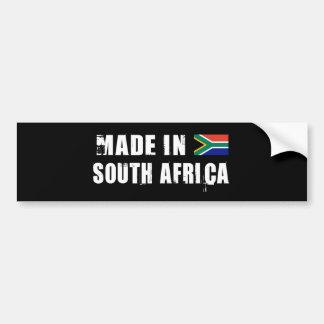 SOUTH AFRICA CAR BUMPER STICKER