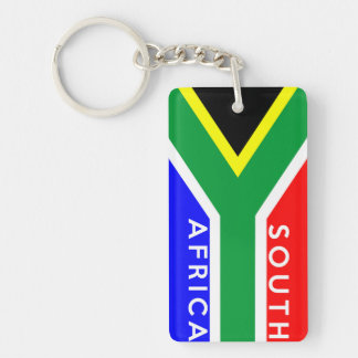 south africa country flag symbol name text acrylic keychains