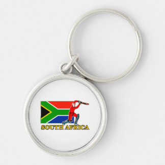 South Africa Cricket Player Key Chains
