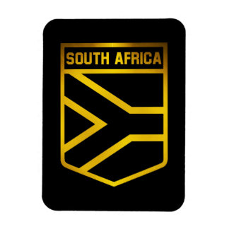 South Africa  Emblem Magnet