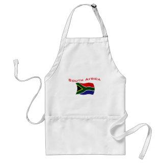 South Africa Flag 2 Standard Apron