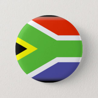 South Africa Flag 6 Cm Round Badge