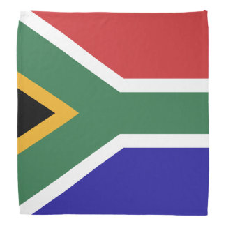 South Africa Flag Bandana