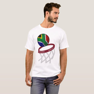 South Africa Flag Basketball Hoop T-Shirt