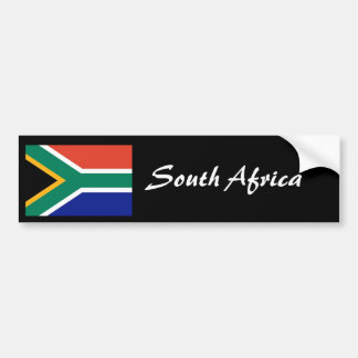 South Africa flag bumper sticker 2