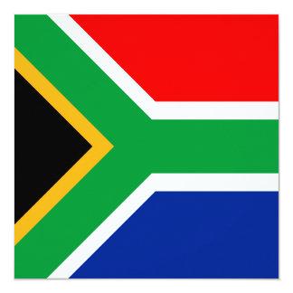 South Africa Flag Card