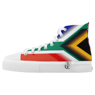 South Africa Flag High Tops