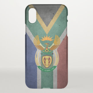 South-Africa flag iPhone X Case