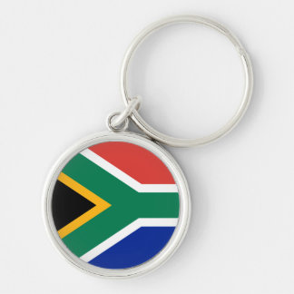 South Africa Flag Keychain