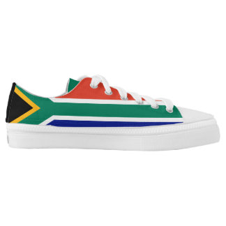 South Africa Flag Low Tops