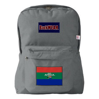 South Africa Flag Modern Designer backpacks Sale