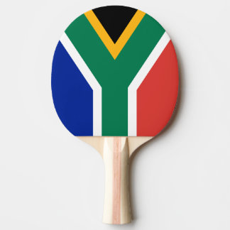 South Africa flag ping pong paddle for tabletennis