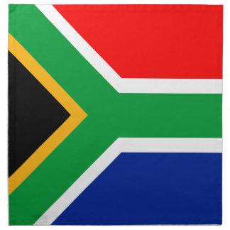 South Africa Flag Printed Napkin