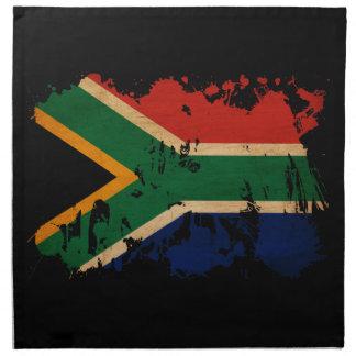 South Africa Flag Printed Napkins