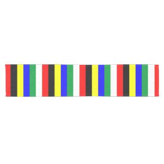 South Africa flag stripes lines symbol Short Table Runner