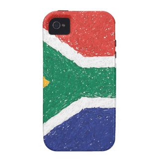 South Africa Flag Theme iPhone 4 Covers