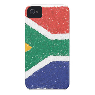 South Africa Flag Theme iPhone 4 Cover